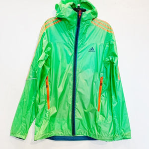Adidas Green Nylon Jacket Size 34