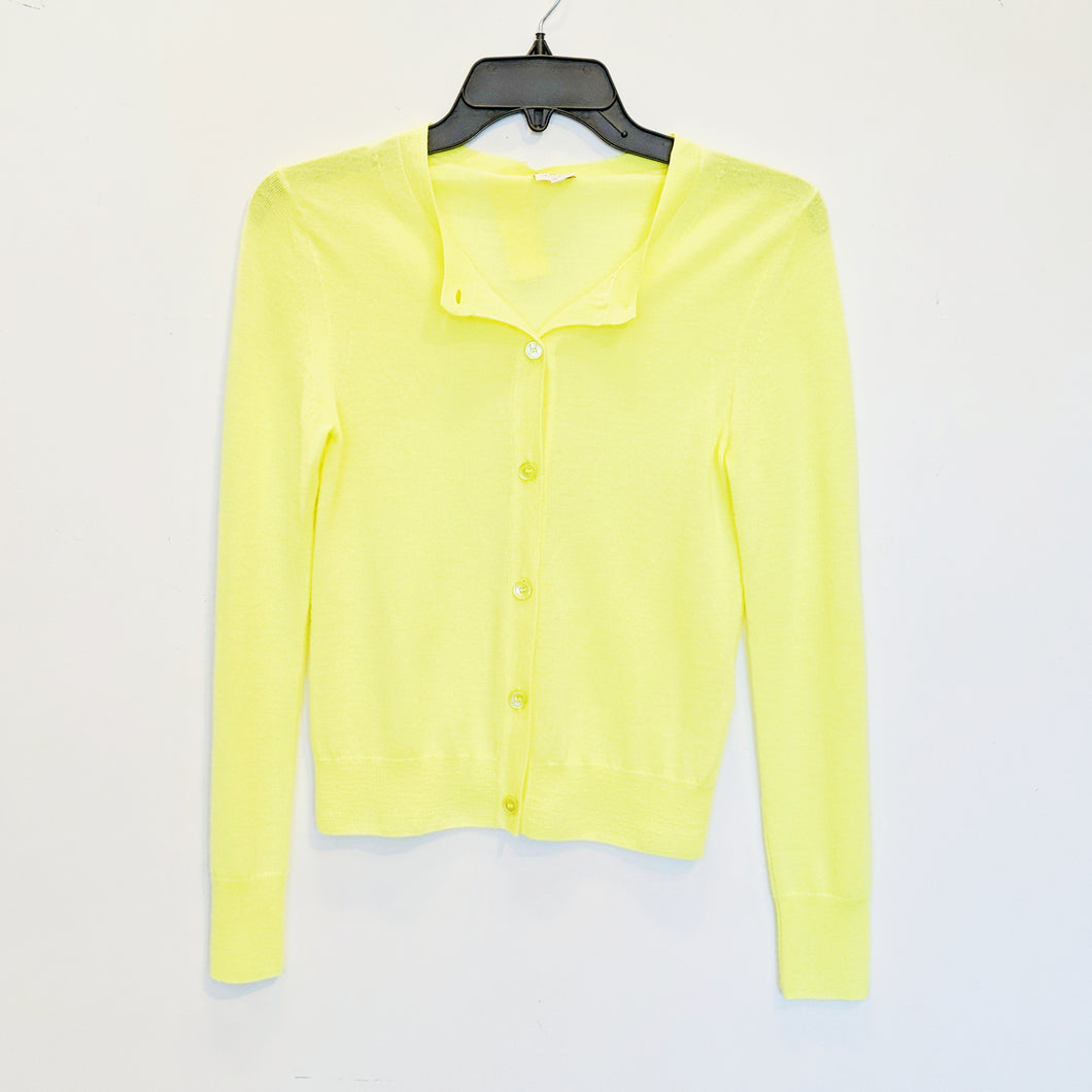 Wilfred Fluorescent Cashmere Cardigan - Size S