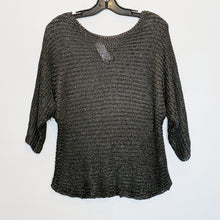 Vince Metallic Weave Sweater - Size S