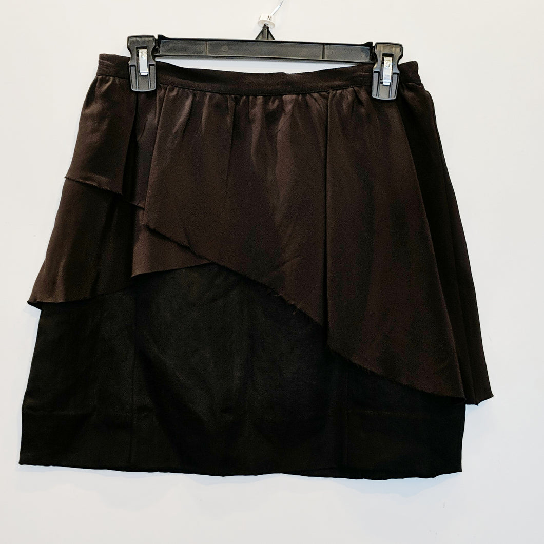 Wilfred Black Layered Skirt