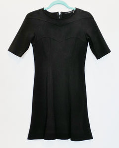 Mackage Black Midi Dress