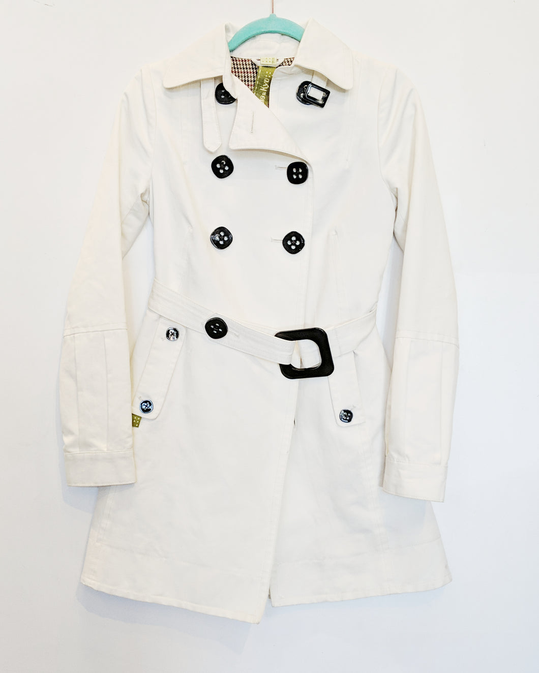 Soia & Kyo White Trench