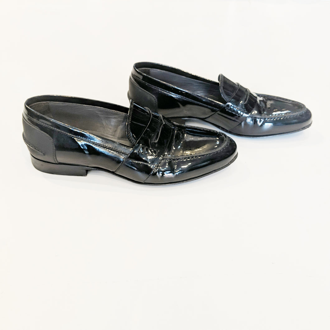 Lanvin Black Leather Loafer