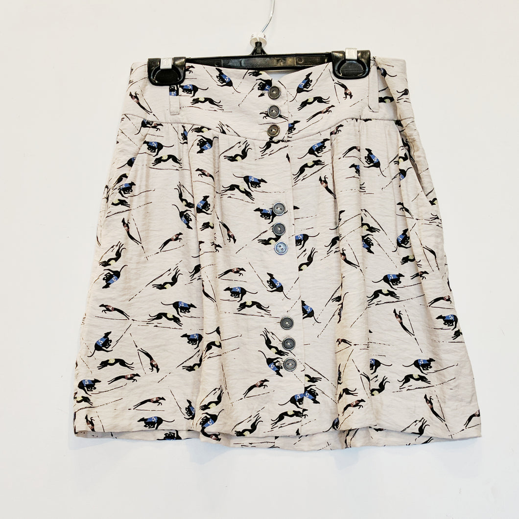 BCBG Greyhound Skirt