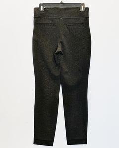 Kit and Ace Straight and Narrow Pant Heathered Charcoal