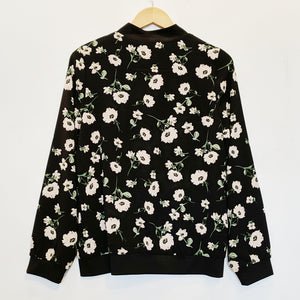 Faith and Joy Floral Bomber Jacket