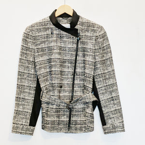 Akris Punto Assymetrical Zip Jacket