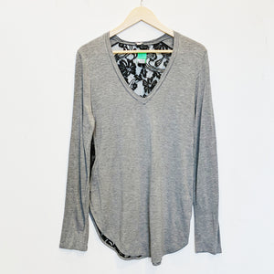 Wilfred Lace Back Long Sleeve Tee