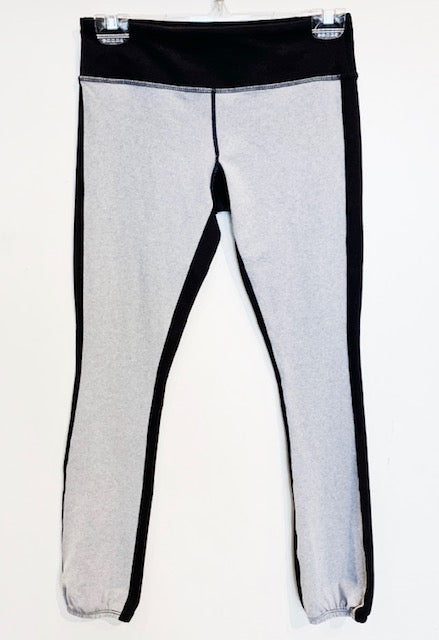 Black and Grey Athleisure Pants Size M