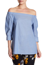 Theory Joscla Off-the-Shoulder Blouse - Size M