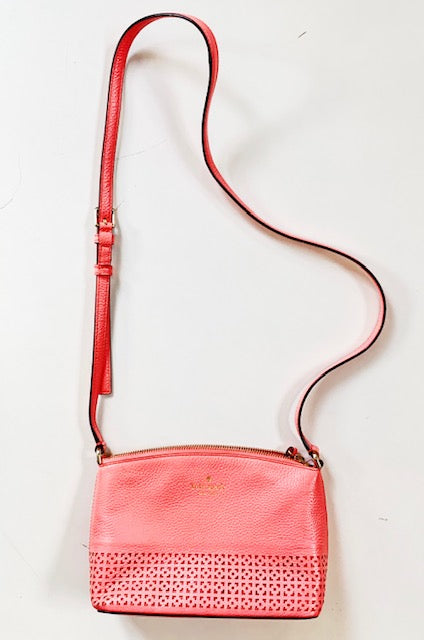 Kate Spade Coral Leather Bag