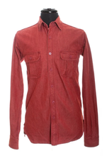 Unbranded Brand Red Denim Work Shirt, size XL