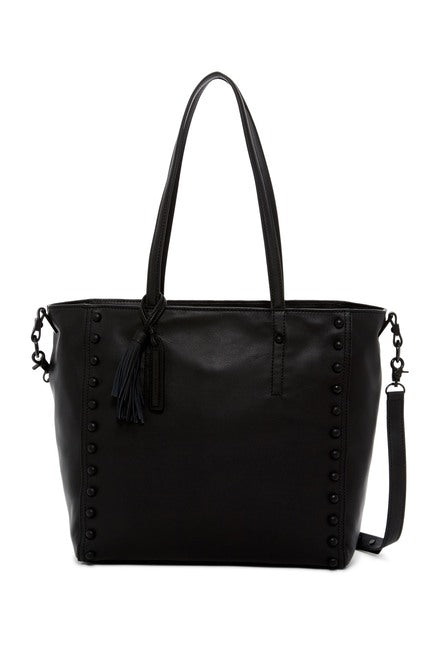 Loeffler Randall Studded Leather Tote Bag