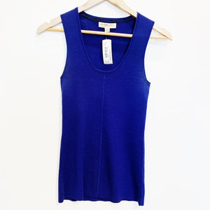 Burberry Blue Knit Top Size S