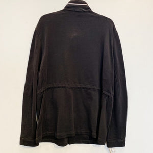 Theory Men's Black Knit Jacket Size XL