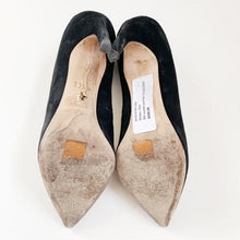 Christian Dior Heart Suede Pumps Size 37.5