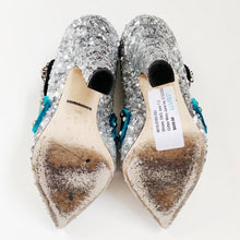 Dolce & Gabbana Glitter Mary Jane Pumps Size 37.5