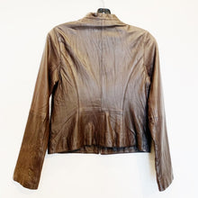 Joie Brown Leather Jacket Size XS