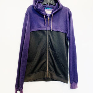 Scotch & Soda Black & Purple Zip Up Size M