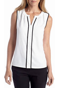 Calvin Klein Piped Blouse