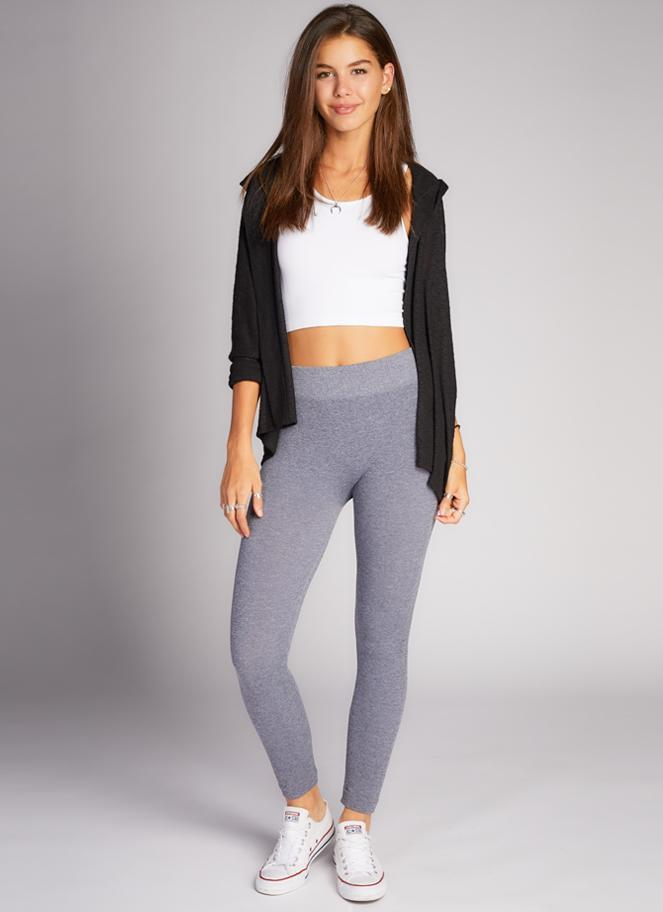 Fleece Lined Leggings - One Size