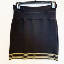 Herve Leger Bodycon Black Skirt Size S