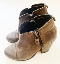 Rag & Bone Brown Leather Booties Size 5