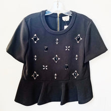 Kate Spade Knit Beaded Top Size L