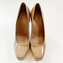 Gucci Patent Leather Platform Pumps Size 39.5