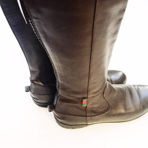 Gucci Leather Boots, Sz 9