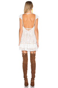 For Love & Lemons Emerie Dress - Size S