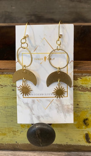 Inner Wolf Earrings