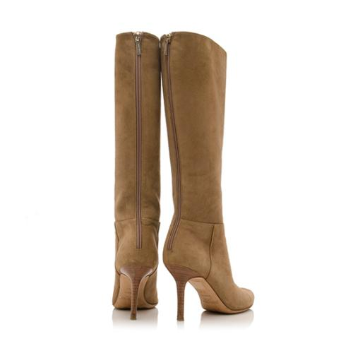 Jimmy Choo Tall Suede Boots Size 39