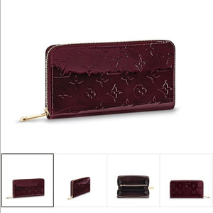 Louis Vuitton Patent Monogram Zippy Wallet