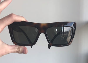 Celine Matrix Havana Sunglasses
