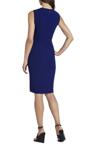 BCBG Tawny Sleeveless Cutout-Waist Dress - Size 4