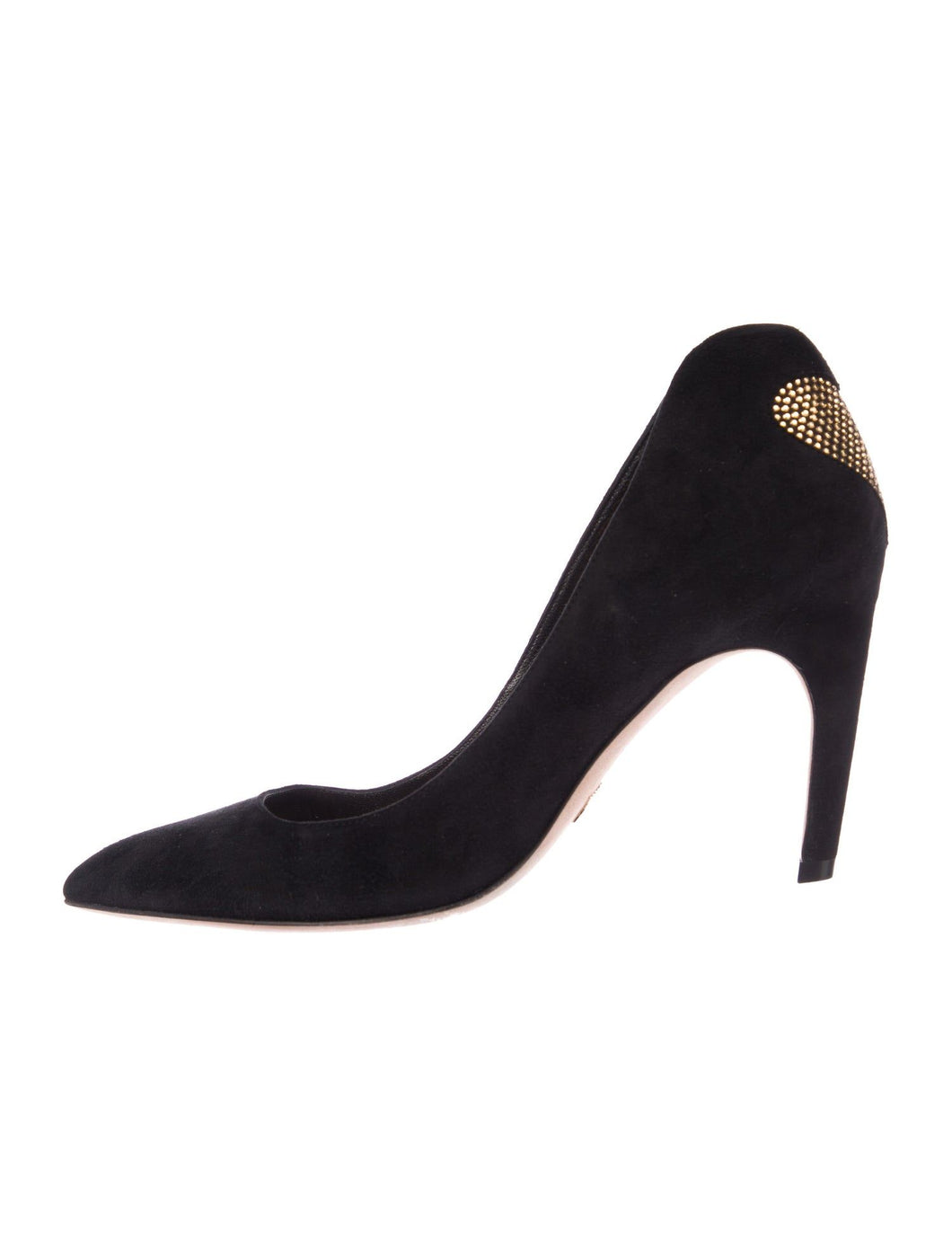 Christian Dior Heart Suede Pumps