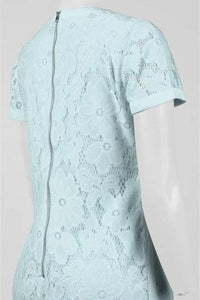 Donna Morgan Floral Lace Dress - Size 4