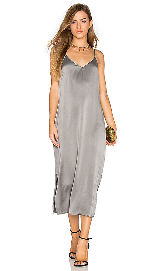 Equipment Anika Silk Slip Dress