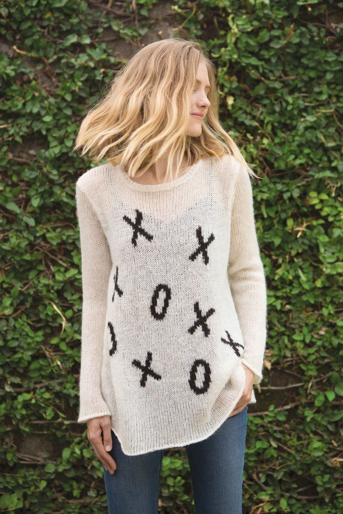 XOXO Wooden Ships Sweater - Size M/L