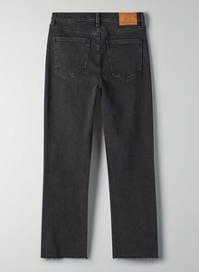 Denim Forum The Arlo High Rise Straight Leg Jean - Size 28