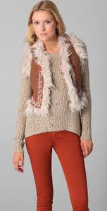 Free People Woolie Knit Reversible Vest