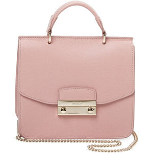 Furla Blush Pink Julia Mini Top Handle Satchel