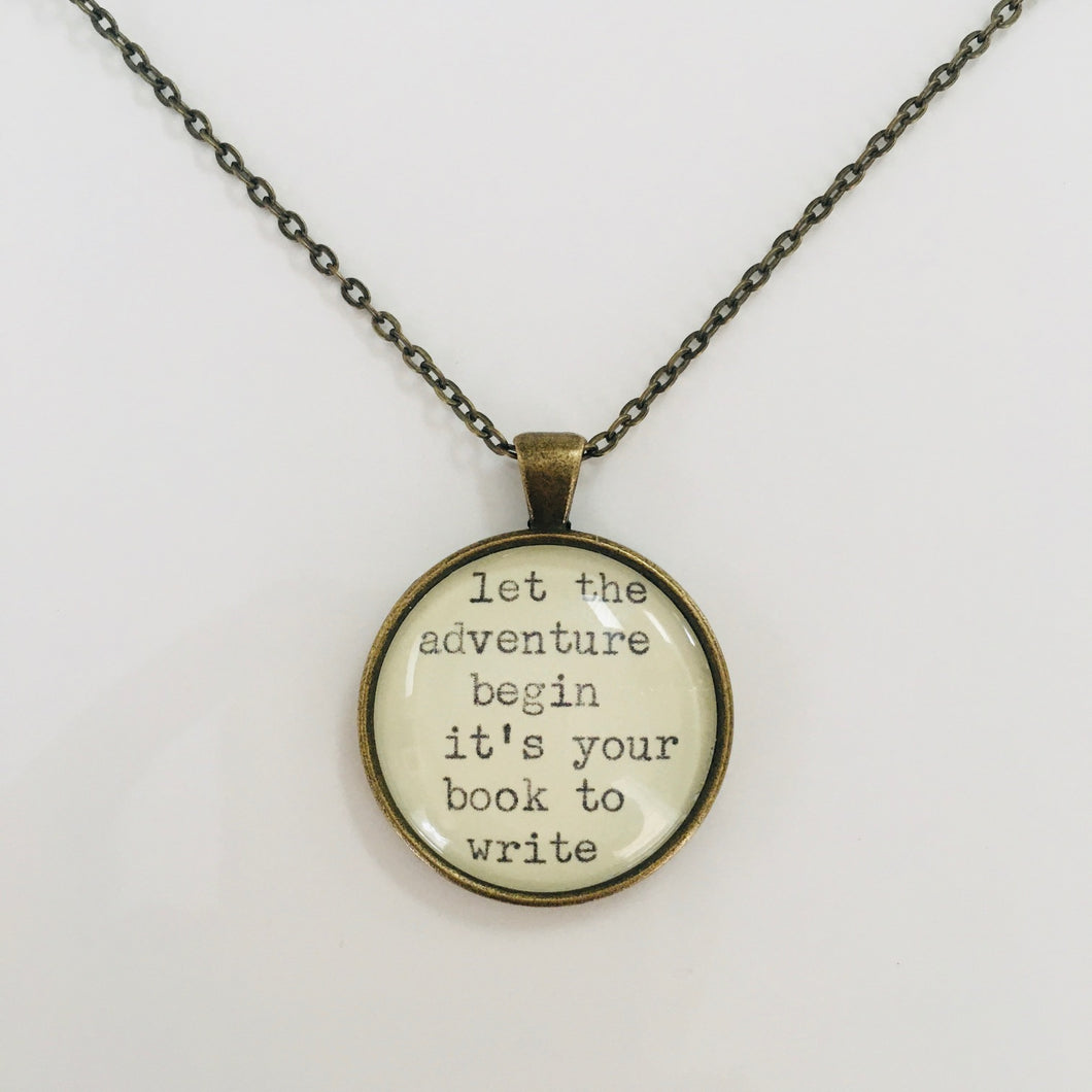 Santosha Poetry Necklace
