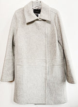 J Crew Grey Wool Coat Size 10