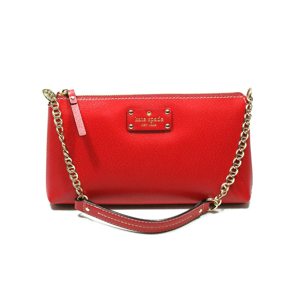 Kate Spade Wellesley Leather Clutch / Shoulder Bag