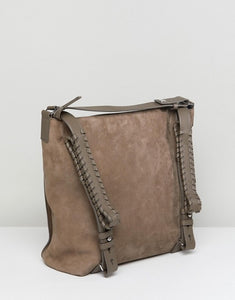 All Saints Kita Leather Convertible Backpack