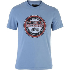 BARBOUR International Vintage Biker Tee