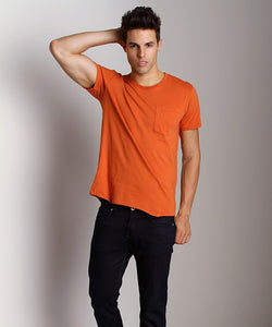 Nudie Roundneck Pocket Tee - Size XL