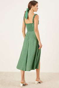 Reformation Arielle Dress in Peppermint
